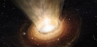 태양보다 120억 배 무거운 거대블랙홀