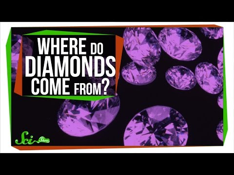 다이아몬드는 어디서 나올까?