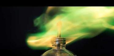 색깔이 변하는 불꽃