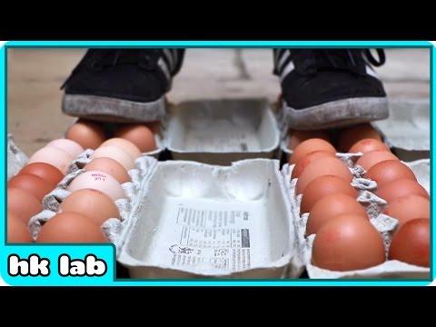 계란 위에서 걷기!