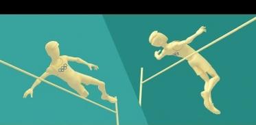 운동선수들은 세계 기록을 경신하기 위해 물리학을 이용한다.