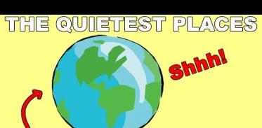 지구에서 가장 조용한 곳은?