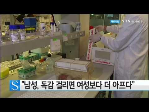 [사이언스 TV] 남성, 독감 걸리면 여성보다 더 아프다