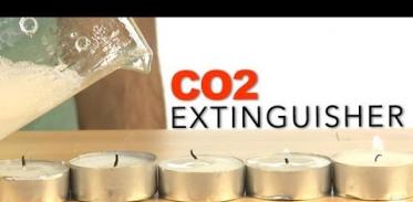 이산화탄소로 소화기 만들기