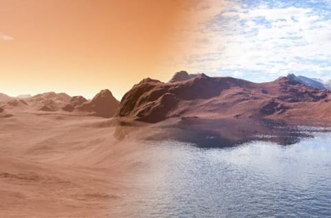 [사이언스타임즈] 화성의 물은 어디로 사라졌을까?