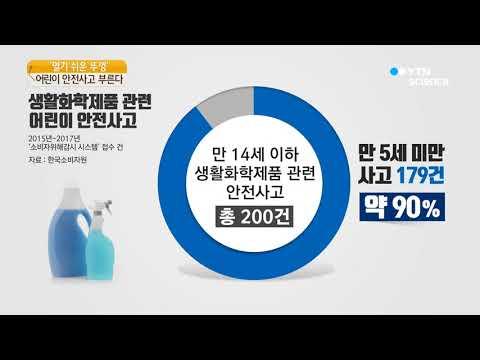 [사이언스TV] 생활화학제품 뚜껑 쉽게 열려 유아 사고 위험