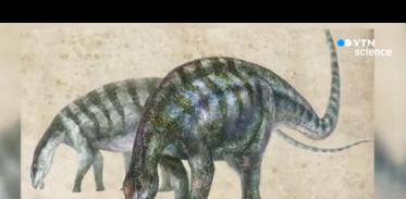 [사이언스TV] 중국서 용각류 공룡 화석 발견