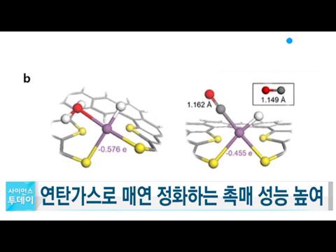 [사이언스TV] 매연 정화하는 백금 촉매, 연탄가스로 성능↑
