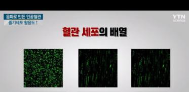 [사이언스TV] 음파로 만든 혈관, 우울증 잡는 센서