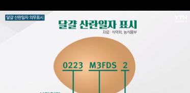 [사이언스TV] 달걀 산란일자 표시 날짜 확인하고 구입하세요