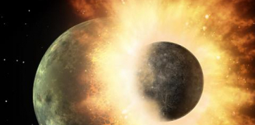 [사이언스타임즈] 달이 생성될 때 지구에 물 생겨
