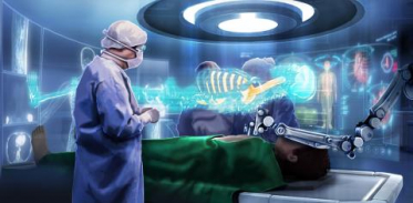 [사이언스타임즈] 수술실, 메스 대신 VR 헤드셋