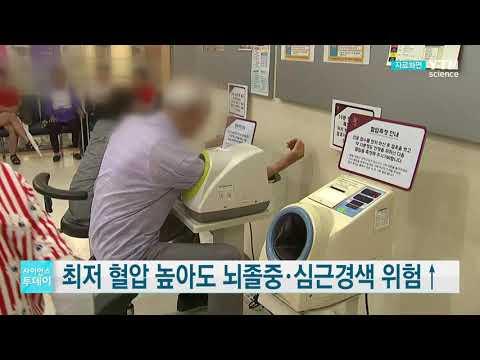 [사이언스TV] 최저 혈압 높아도 뇌졸중·심근경색 위험↑