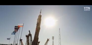 UAE 우주인 탑승 러시아 우주선 발사 성공