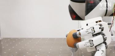달걀 집고 옮기고 '자유자재' 로봇 손 개발