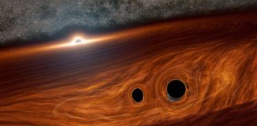 [사이언즈타임즈] 블랙홀이 강한 빛을 방출했다