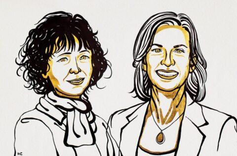 [사이언즈타임즈] 노벨화학상, 유전자가위 개발한 두 '여성과학자' 수상